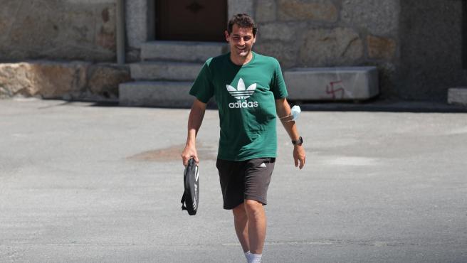 Iker Casillas en Navalacruz.