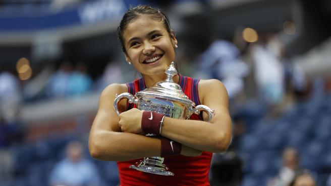 Emma Raducanu, campeona del US Open