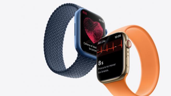 El Watch Series 7 dispondrá de mejoras para conectar el entrenamiento al usuario.