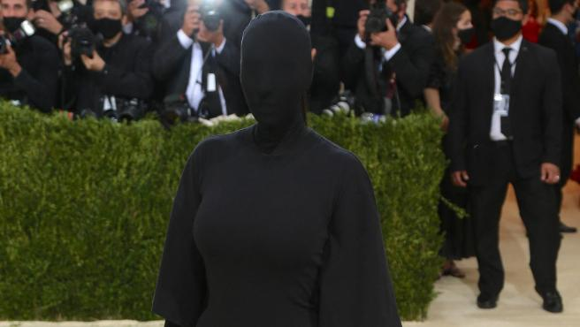 Kim Kardashian, en la MET Gala 2021.