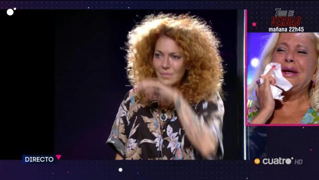 Sofía Cristo y Bárbara Rey, en 'Secret Story: cuenta atrás'.
