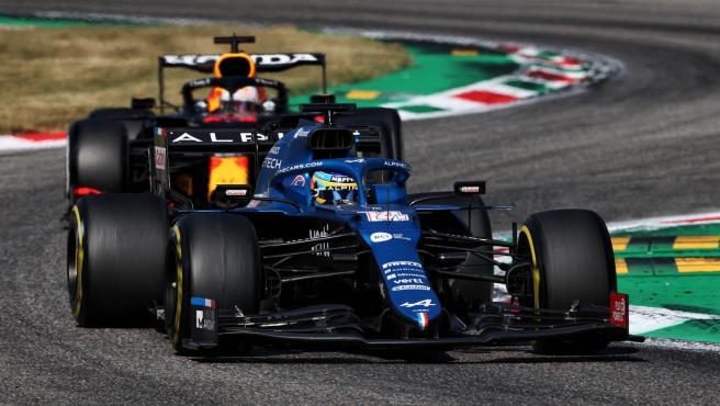 Fernando Alonso, during the Italian GP of Formula 1