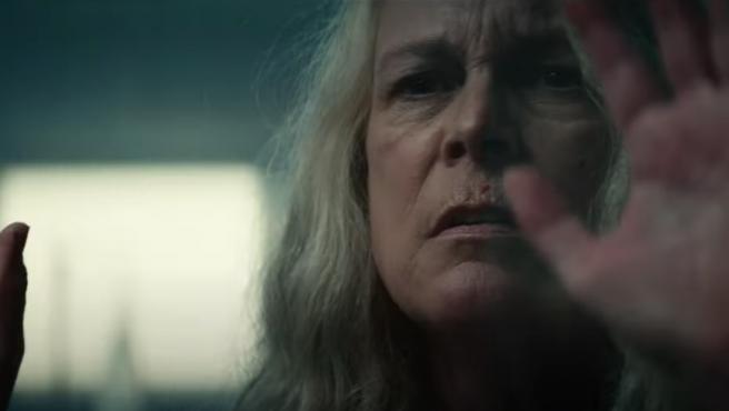 Jamie Lee Curtis en el tráiler de 'Halloween Kills' (2021).