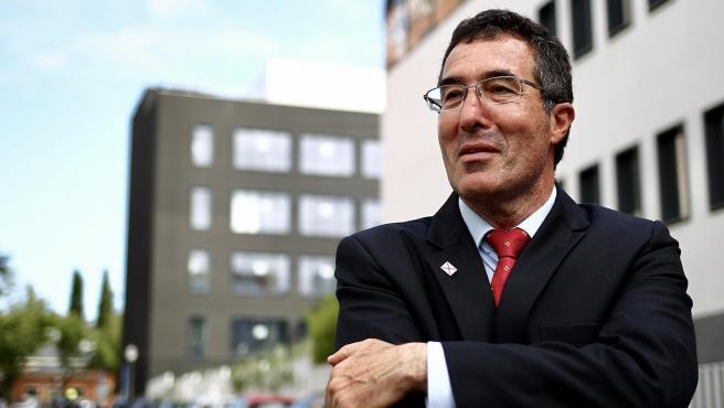 Marcelo Gullo, frente a la redacción de 20minutos.