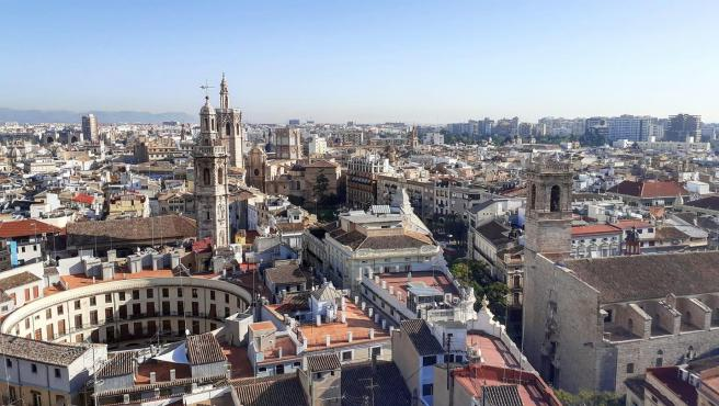 Distrito de Ciutat Vella, en el casco histórico de València.