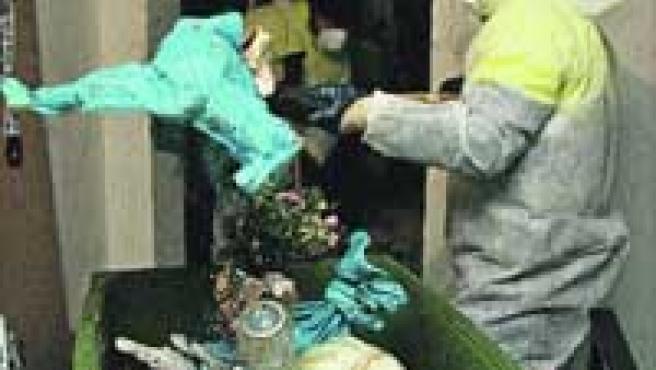 7.000 kilos de basura acumuló una mujer en Málaga.