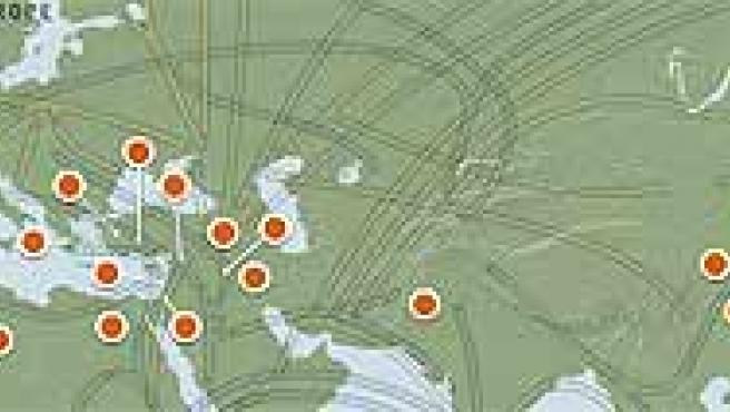 Mediante el estudio del ADN podremos conocer los movimientos migratorios de los antepasados. (www.nationalgeographic.com)