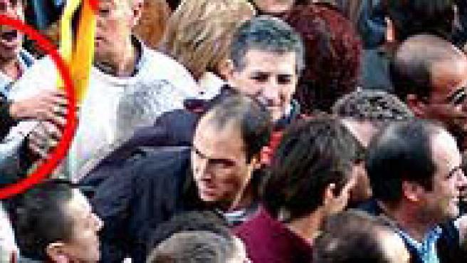 Isidoro Barrios y Toñi de la Cruz, miembros de la directiva del PP en Las Rozas