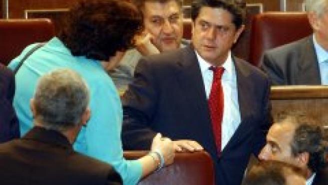 Federico Trillo, en el Congreso