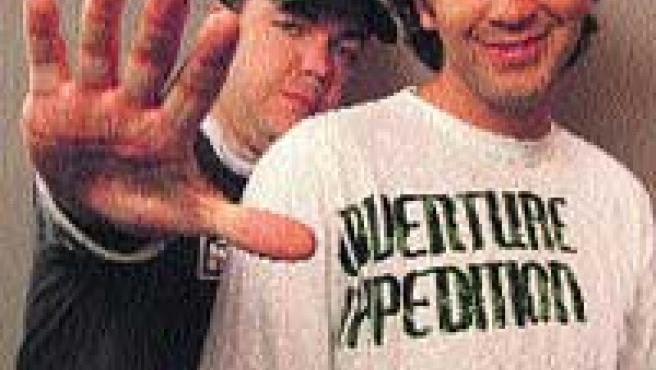 Jorge y Eduardo se conocieron en el estudio de grabación de un amigo.