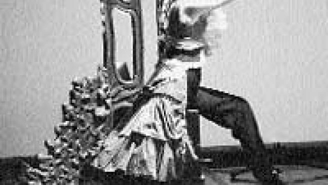 Moment de 'Tablao', funció que modernitza l'escenografia flamenca.