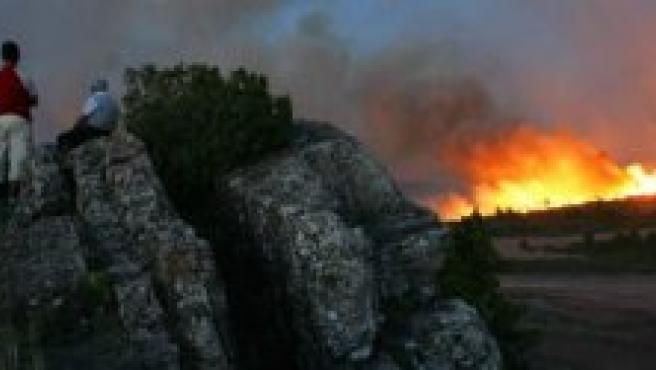 Incendio en Cazorla