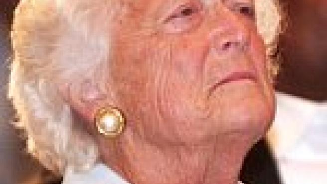 Bárbara Bush, ex primera dama y madre de George W. Bush (EFE).