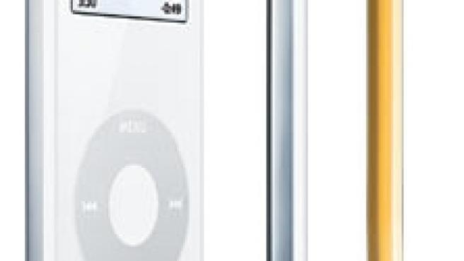 El iPod Nano, un 80% más pequeño que el iPod original