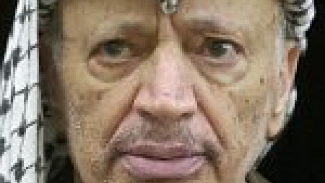 Yaser Arafat en 2001 (EFE).