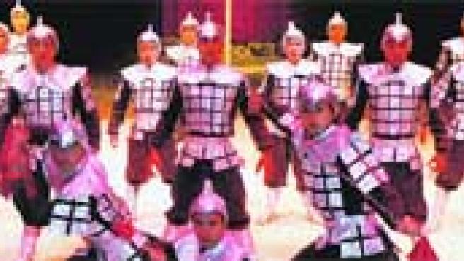 Los guerreros imperiales, con sus danzas y sus peleas, serán unos de los protagonistas del espectáculo junto a los elefantes, payasos y leones.