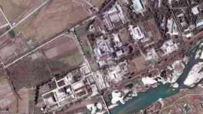 Instalaciones del complejo nuclear de Yongbyon, a unos 100 kilómetros al norte de Pyongyang, Corea del Norte (Foto: Efe/Digital Globe)