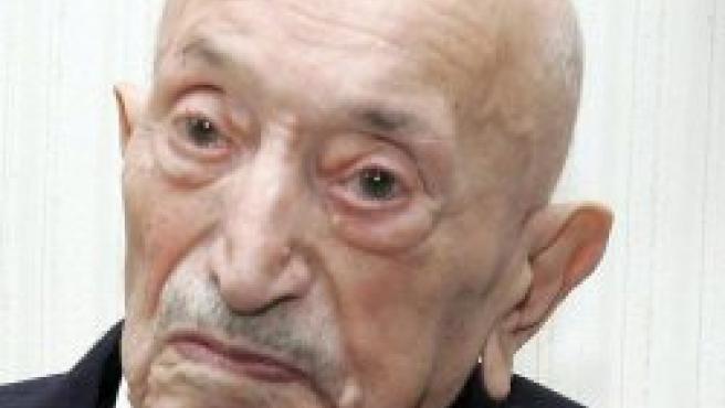 Simon Wiesenthal en una foto de archivo (EFE)