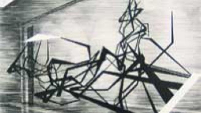 Una de las obras del artista Chico López.