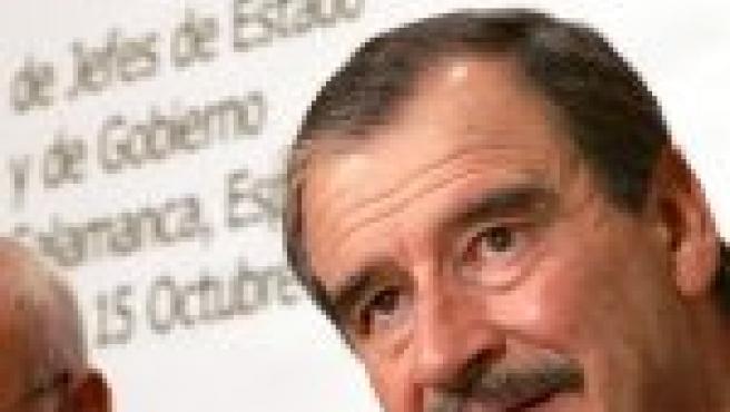 El presidente de Méjico, Vicente Fox