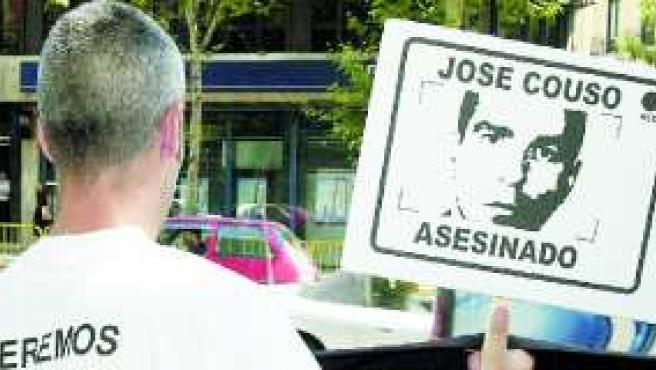 Protestas en memoria de José Couso.