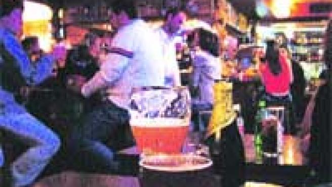 La Taberna del Irlandés, uno de los locales granadinos típicamente cerveceros.