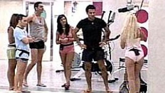 De esta guisa entraron los concursantes de 'GH 7' en la casa (Foto: Telecinco)