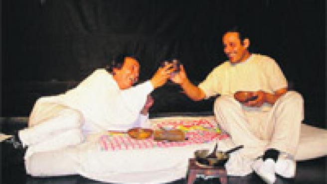 José Yovane y David Musa son los actores de esta obra que hermana a dos compañías.