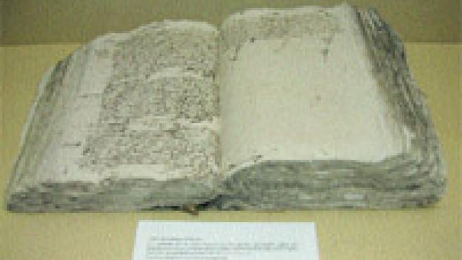 El documento cervantino inédito que no ha sido publicado con anterioridad. El manuscrito ha sido restaurado por el Instituto Andaluz del Patrimonio Histórico.