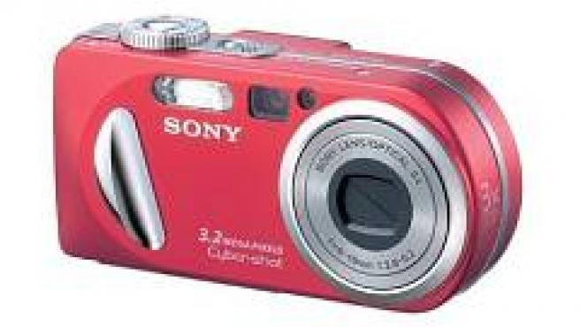 Uno de los modelos afectados, la Sony Cyber-shot P10.