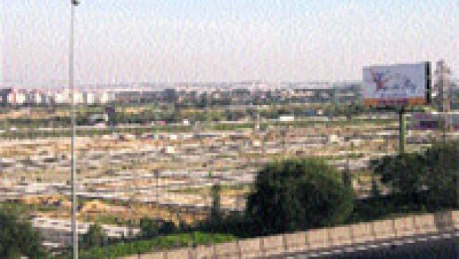 Vista actual de la zona de Vega del Rey.