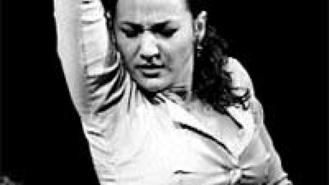 La bailaora Concha Jareño actúa en Casa Patas.
