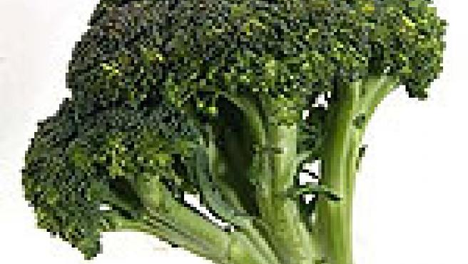 Un brócoli común.
