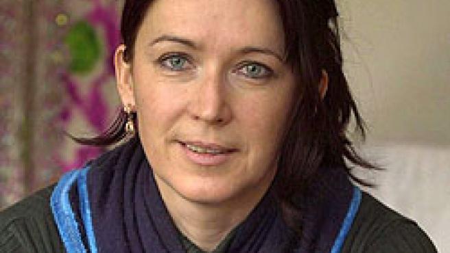 Fotografía de archivo del 20 de febrero de 2004 de la alemana Susanne Osthoff (EFE)