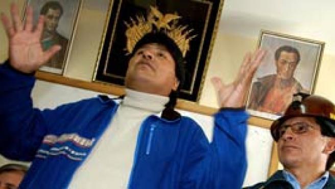 Evo Morales (Efe).