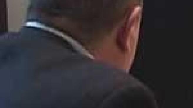 Esteban P. padre de uno de los acusados de quemar a una indigente.