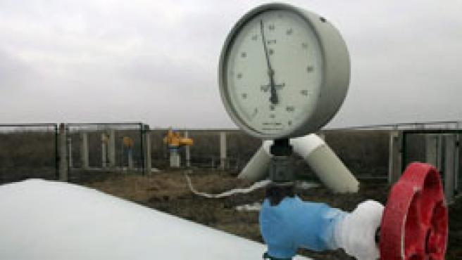 Medidor del gaseoducto de Ucrania (Efe).