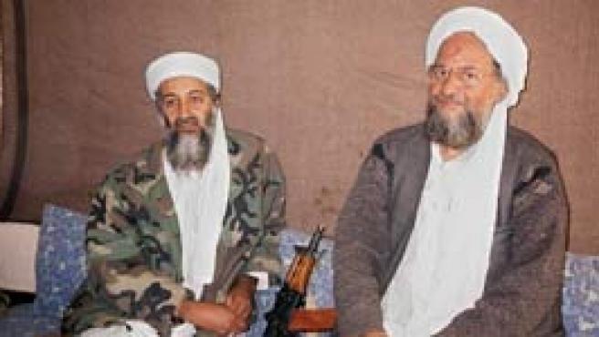 Bin Laden y Al Zawahiri (Efe).