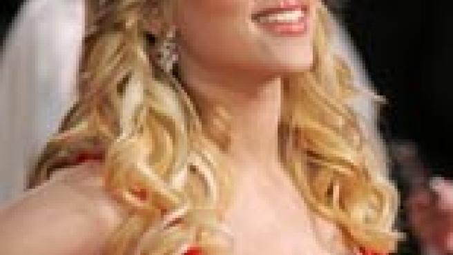 Scarlett, en la 63ª edición de los Globos de Oro (Foto: Reuters)