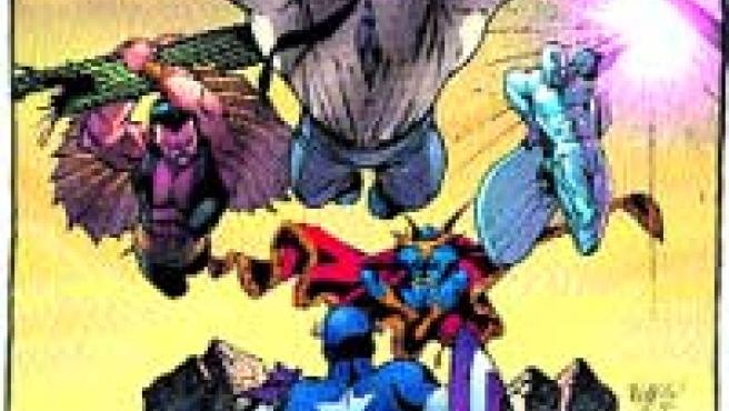 Carlos Pacheco triunfa en los EE UU con sus dibujos para la Marvel.