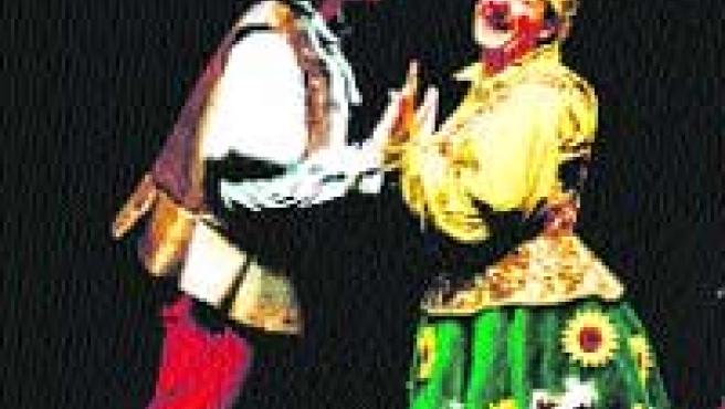 El ingenioso hidalgo se viste de clown en Caixanova.