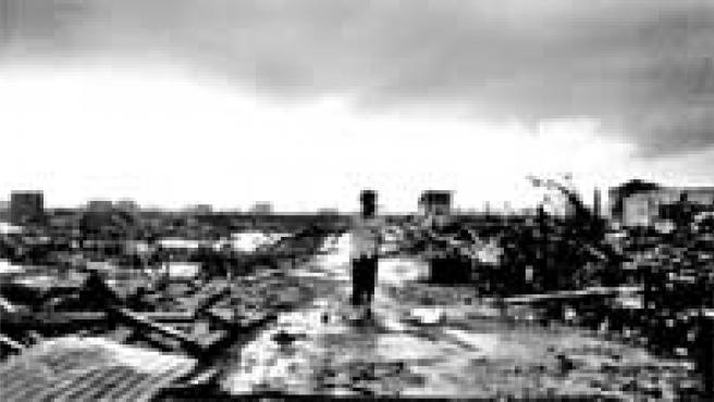 Tsunami, una de las dos fotografías premiadas.