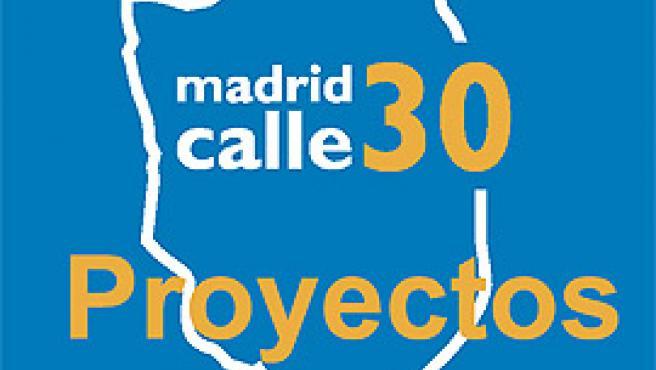 Logotipo de Madrid Calle 30.