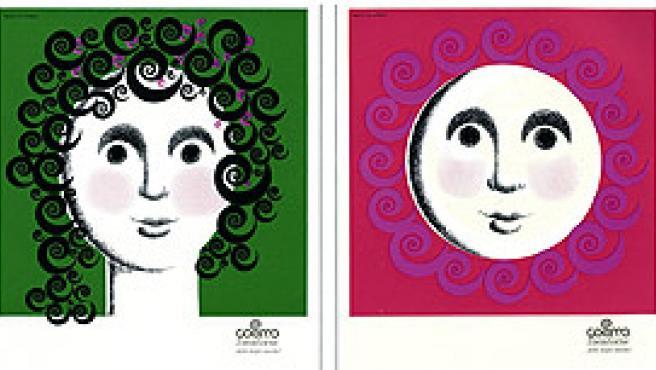 Cartel publicitario para tocadiscos Cosmos, de J. Pla Narbona.