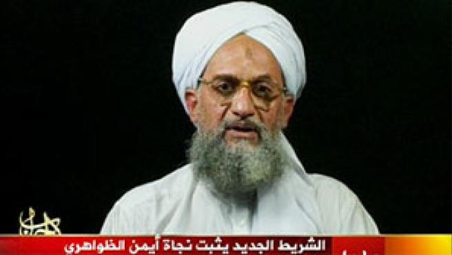El número dos de Al Qaeda en el vídeo emitido por Al Yazira