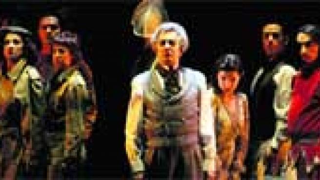 El cuadro de actores, encabezado por Juan Ribó como Federico, incluye varios intérpretes andaluces. Dirige José Monleón.