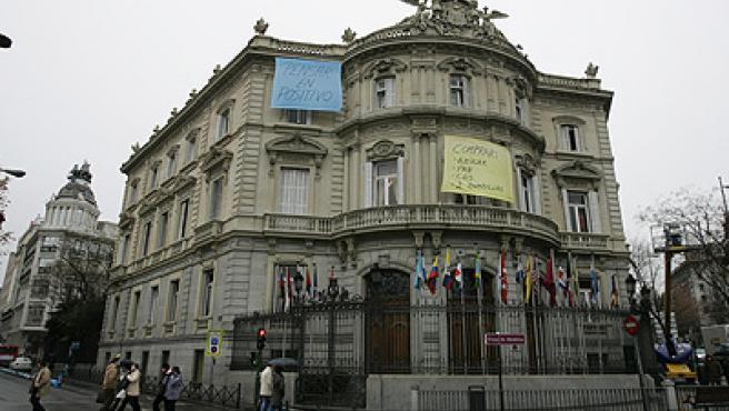 Los carteles, en la Casa de América (Jorge París).