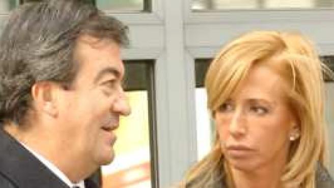 Álvarez Cascos y María Porto ©Korpa