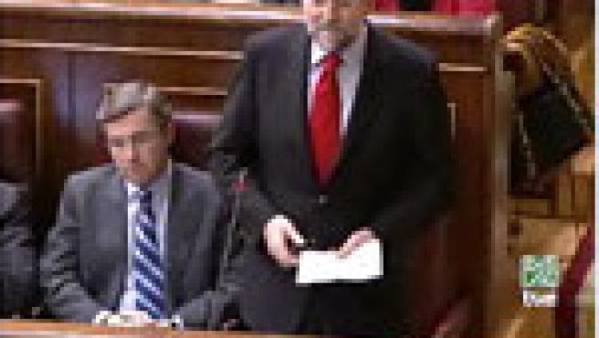 La imagen de Mariano Rajoy que se 'coló' en el vídeo de Abu Ghraib.