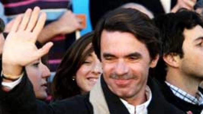 El ex presidente Aznar en México